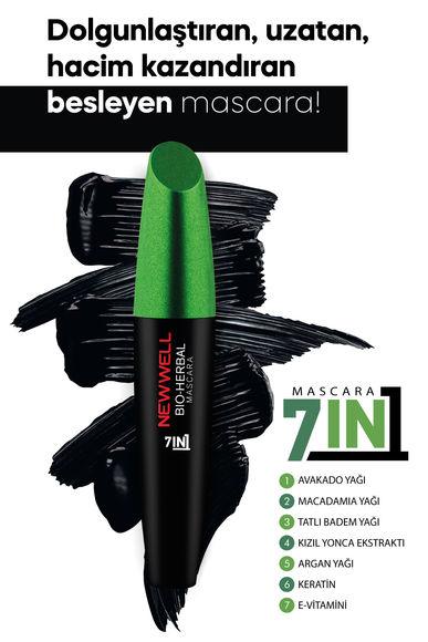 Bio-Herbal Bitkisel Mascara - 7in1 -Maskara - Mascara