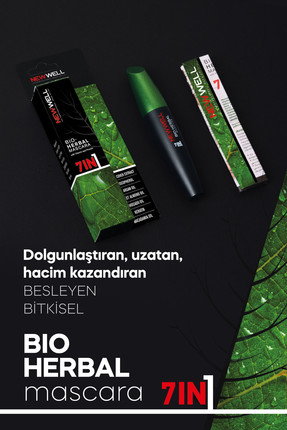 Bio-Herbal Bitkisel Mascara - 7in1 -Maskara - Mascara Thumbnail