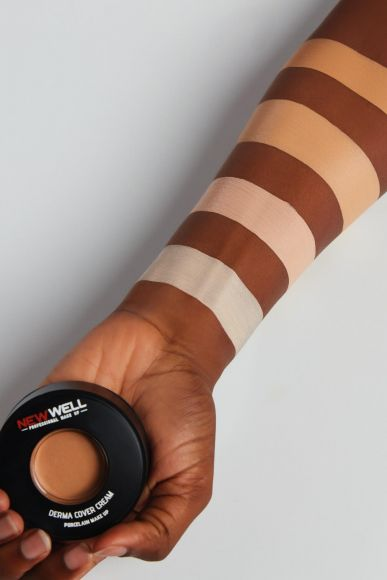 Derma Cover Cream Foundation - 01 -Foundation