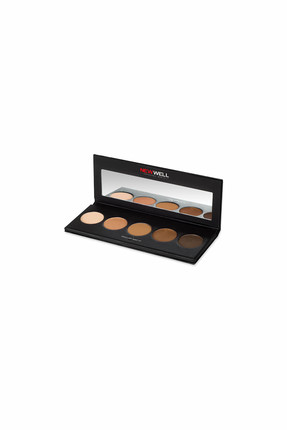 Eyeshadow Palette - Brown Tones - 5 Colours -Göz Farı Thumbnail