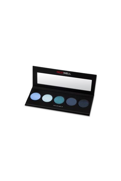 Eyeshadow Palette - Blue Tones - 5 Colours -Göz Farı