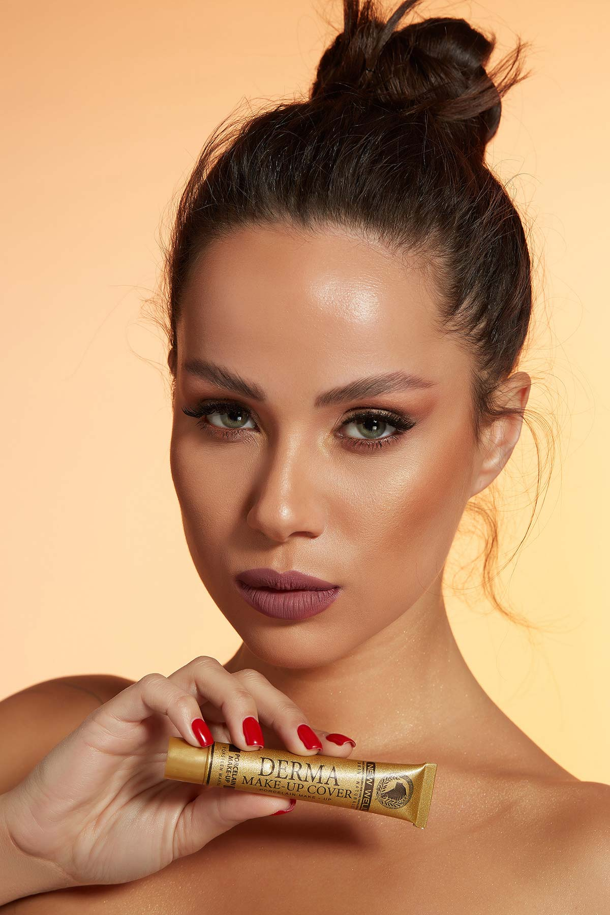 Derma Make-Up Cover Foundation - Gold -Fondöten - Foundation