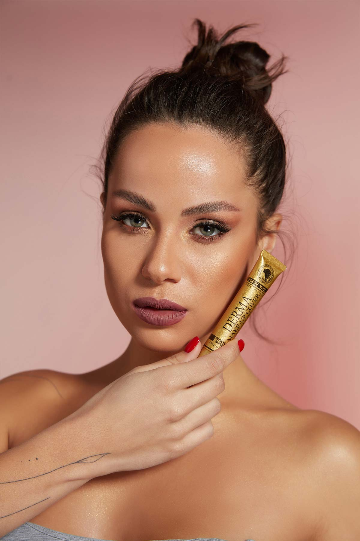 Derma Make-Up Cover Foundation - Gold -Fondöten - Foundation Thumbnail