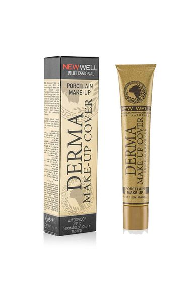 Derma Make-Up Cover Foundation - Gold -Foundation