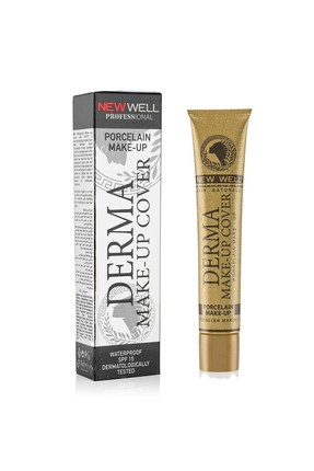 Derma Make-Up Cover Foundation - Silver -Foundation Thumbnail