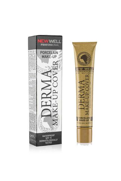 Derma Make-Up Cover Foundation - Silver -Foundation