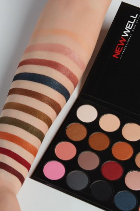 Eyeshadow Palette 24 - Mixed Tones - 24 Colours -Eyeshadow Thumbnail