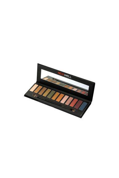 Eyeshadow Palette 42 - Brown Tones - 12 Colours -Eyeshadow