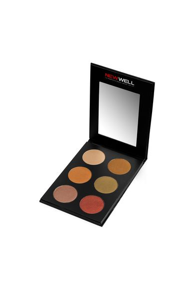 Eyeshadow Palette 51 - Brown Tones - 6 Colours -Eyeshadow