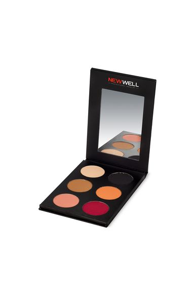 Eyeshadow Palette 52 - Red Tones - 6 Colours -Eyeshadow