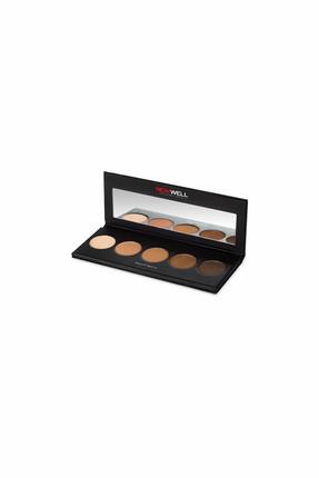 Eyeshadow Palette - Brown Tones - 5 Colours -Eyeshadow Thumbnail
