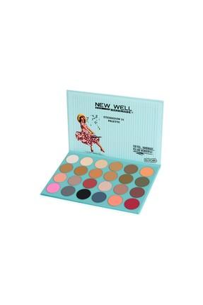 Handmade Eyeshadow Palette - Almira - 24 Colours -Göz Farı Thumbnail