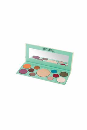 Handmade Highlighter Eyeshadow Palette - Antoinette - 10 Colours -Göz Farı Thumbnail