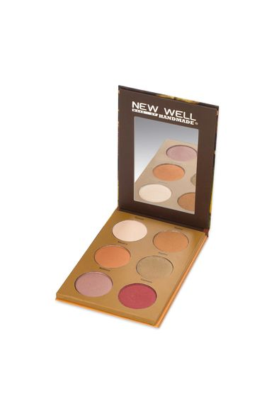 Handmade Eyeshadow Palette - Nicolas - 6 Colours -Eyeshadow