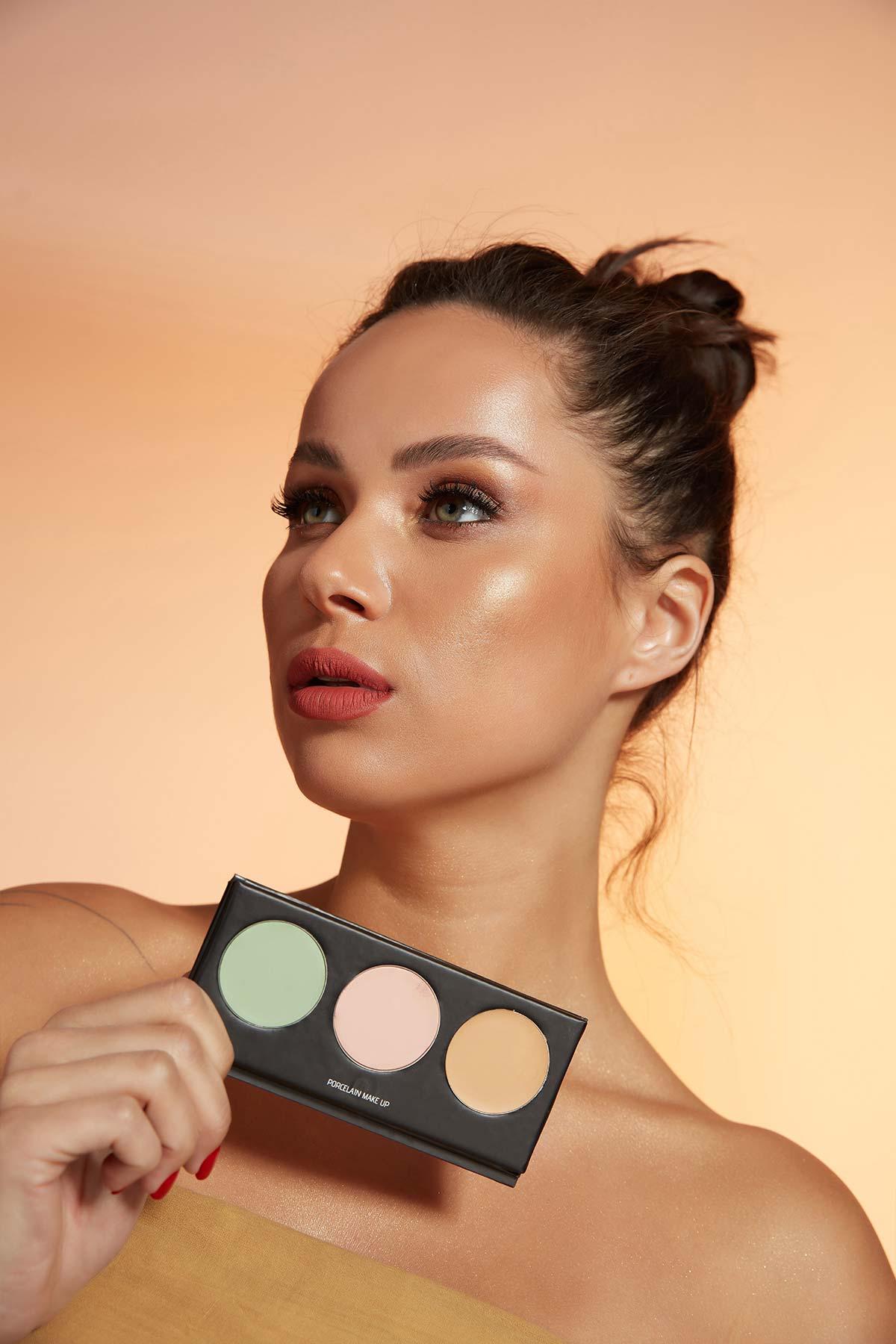 Correct & Conceal Camouflage Cream Palette -Concealer - Kapatıcı