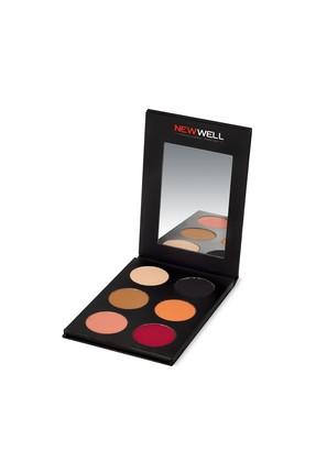 Eyeshadow Palette 52 - Red Tones - 6 Colours -Göz Farı Thumbnail
