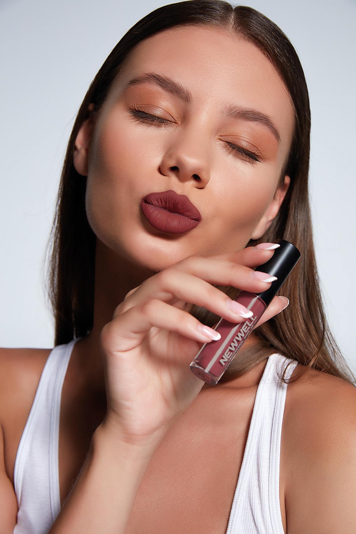 Liquid Lipgloss - 214 -Ruj - Lipstick Thumbnail