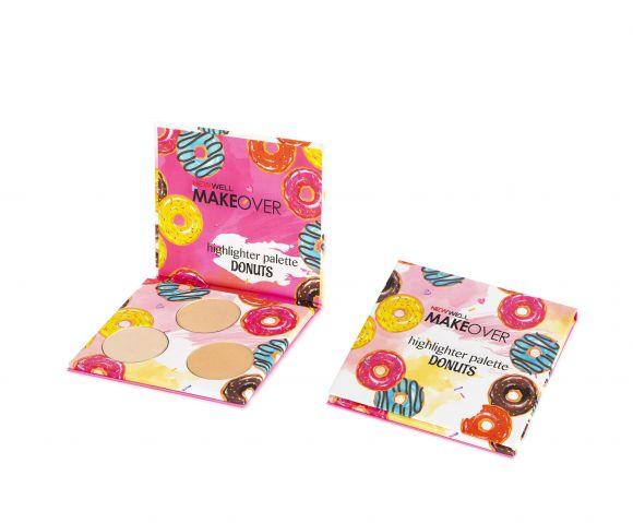 Makeover Donuts Highlighter Palette -Highlighter - Aydınlatıcı