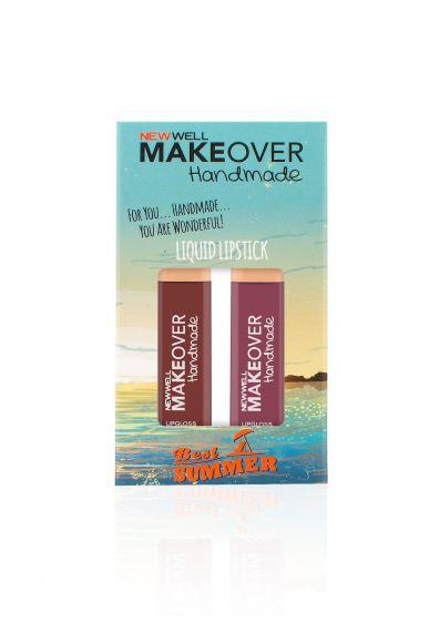 Makeover Handmade 2'li Liquid Lipstick - Best Summer - 4ml -Ruj - Lipstick