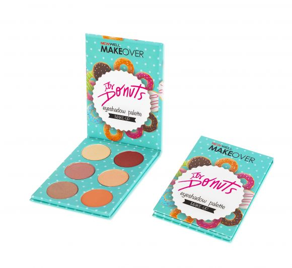 Makeover It's Donuts Eyeshadow Palette -Göz Farı