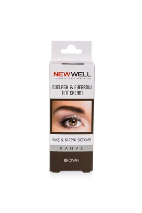 New Well Light Brown and Eyelash Dye -Eyebrow and Eyelash Care