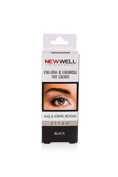 New Well siyah ve Kirpik Boyası -Kaş ve Kirpik Bakımı