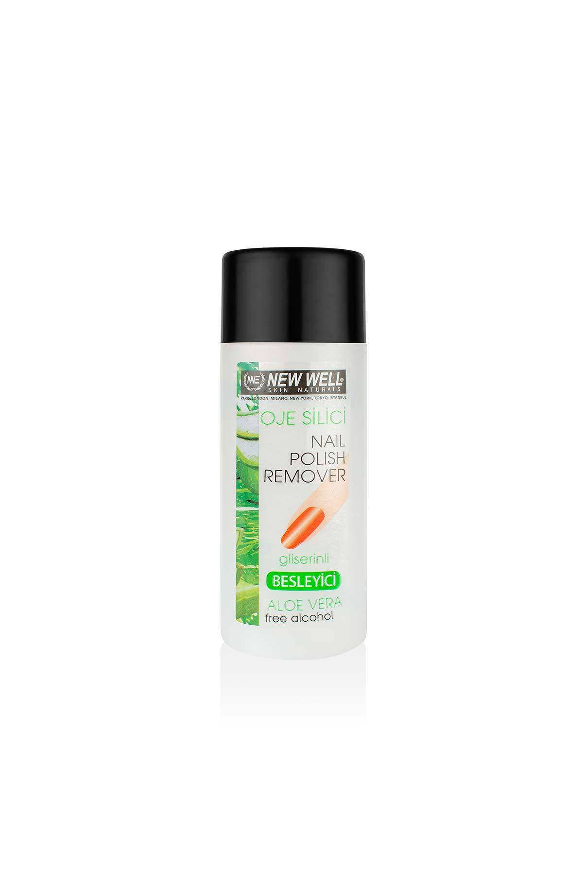 Oje Silici Aseton Besleyici Aloe Vera - Tırnak Bakım Ürünleri