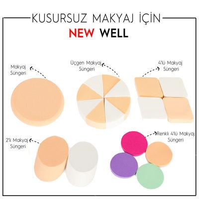 Renkli 4'lü Makyaj Süngeri -Makyaj Süngeri