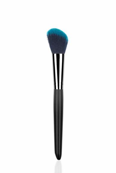 Siyah Açılı Bronzer Fırçası -Makyaj Fırçaları